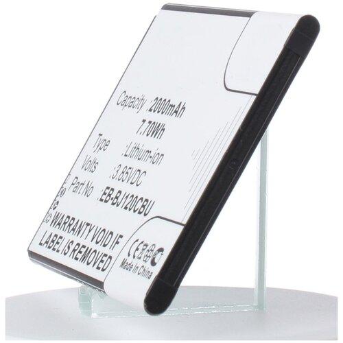 Аккумулятор iBatt iB-U1-M2731 2000mAh для Samsung Net10, Galaxy J1 2016, Galaxy J1 6, TracFone, Galaxy Luna, Galaxy Express 3, SM-J120A, аккумулятор ibatt ib u1 m2730 1800mah для samsung sm j111f galaxy j1 ace neo galaxy j1 ace 4g sm j111 galaxy j1 ace 3g duos