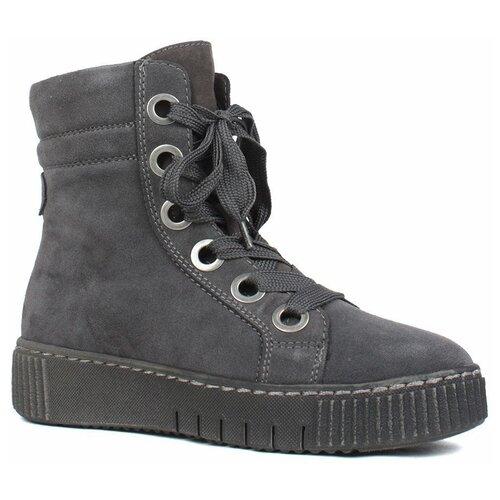 ботинки tamaris Ботинки Tamaris , размер 41 , темно-серый