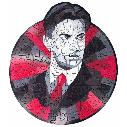 Купить Деревянный фигурный пазл AFI DESIGN Маяковский в подарочной упаковке (23х20 см, 80 деталей), Пазлы