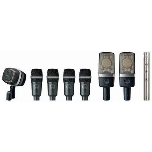 Микрофон для барабана набор AKG Drumset Premium