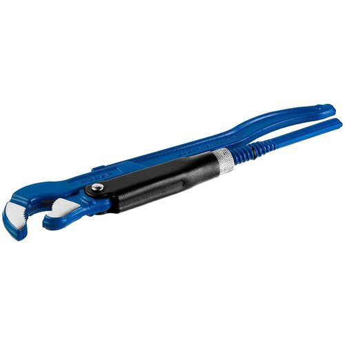 STAYER Ключ трубный, изогнутые губки №1, STAYER HERCULES-S ключ прямой трубный stayer 27331 3
