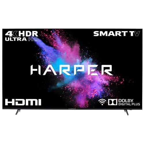 Фото - Телевизор HARPER 50U750TS 49.5 (2018), черный телевизор harper 40 40f660t 40f660t
