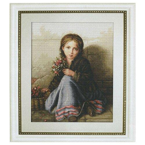 Набор для вышивания Портрет девочки , Luca-S 33 х 42,5 см ( B513 )