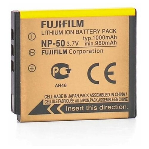 Фото - Аккумулятор Fujifilm NP-50 для Fujifilm FinePix XP100, X10, XF1, X20, 3D, W3 аккумуляторная батарея для фото видеокамер fujifilm finepix hs30 hs33exr x pro 1 np w126 7 4v 1020mah