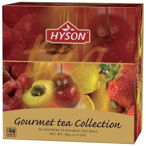Чай HYSON черн. Gurmet Tea Collection 60 пак x 1.5гр/уп