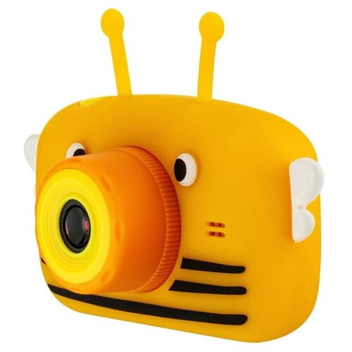 Фото - Детский цифровой фотоаппарат Пчелка Желтая / Kids Camera детский цифровой фотоаппарат собачка розовый kids camera pink
