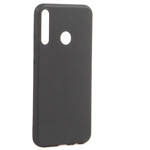 Чехол Brosco для Huawei P40 Lite E TPU Matte Black HW-P40LE-COLOURFUL-BLACK
