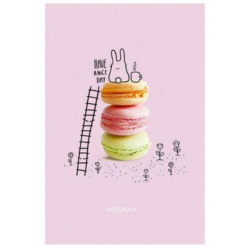 Купить Записная книжка BG Хороший день сегодня, А5, 80 листов, розовый, Ежедневники