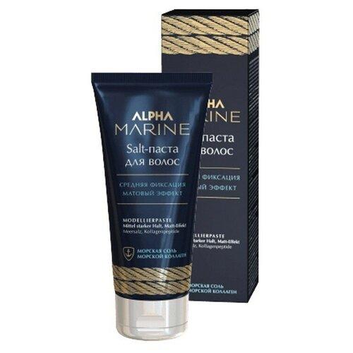 ESTEL Estel, Alpha Marine Salt - паста для волос с матовым эффектом, 100 мл salt паста для волос с матовым эффектом alpha marine 100мл