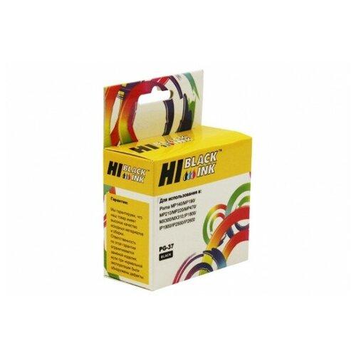 Картридж Hi-Black (HB-PG-37) для Canon PIXMA iP1800/2500/MP140/MX300, Bk
