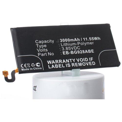 Аккумуляторная батарея iBatt 3000mAh для Samsung SM-G928F, SM-G928A, SM-G928T, SM-G928V, SM-G9287, SM-G9287C, SM-G928I, SM-G928P, SM-G928R, SM-G928R4