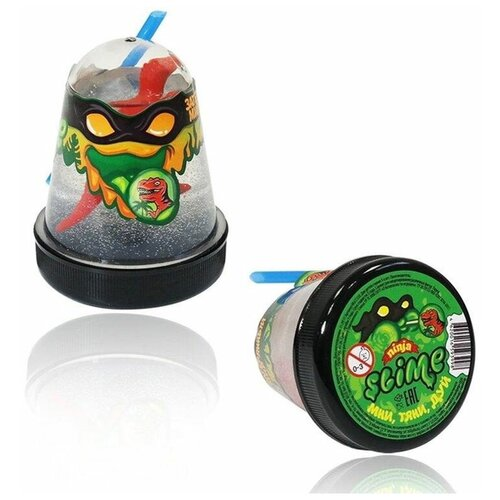 Купить Лизун Slime «Ninja» Затерянный мир, динозавр, Slime, 130 г., Игрушки-антистресс