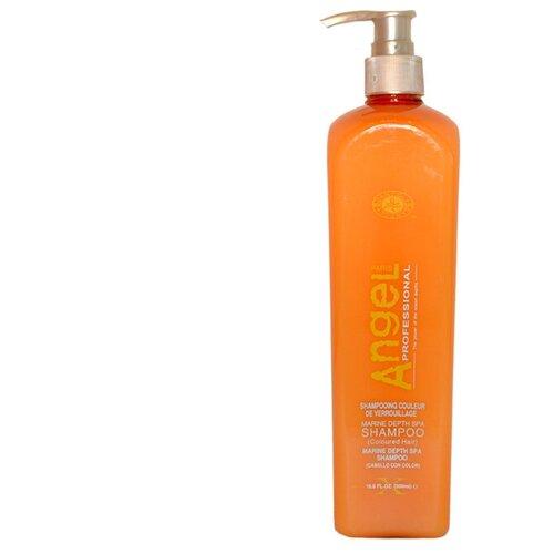 Купить Angel Professional Шампунь для окрашенных волос Marine Depth Spa Shampoo, 500 мл
