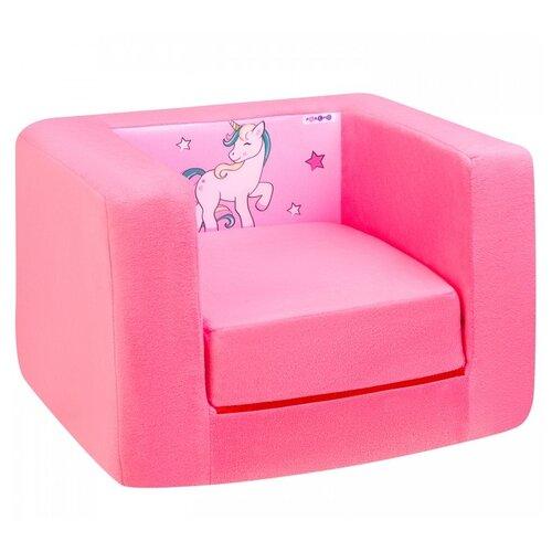 Кресло-кровать PAREMO детское PCR320 Дрими Крошка Лали размер: 52х45 см, обивка: ткань, цвет: розовый