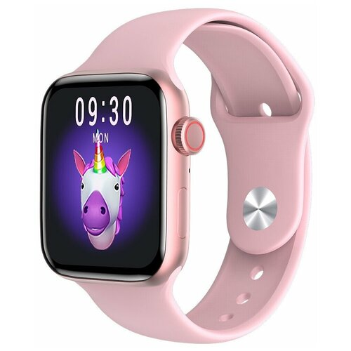 Умные часы Smart watch IWO HW99, розовый