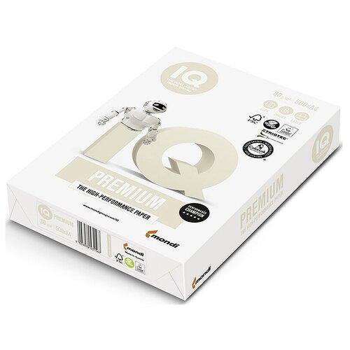 Фото - Бумага IQ Premium А4, марка А+, 80 г/кв.м, (500 листов) бумага iq allround а4 марка в 80 г м2 500 листов