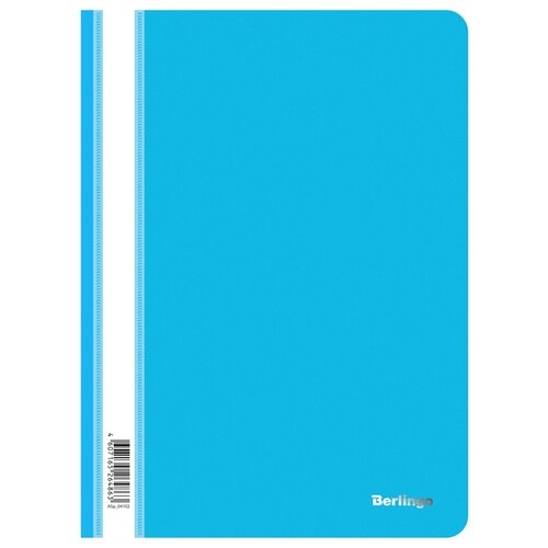 Berlingo Папка-скоросшиватель с прозрачным верхом А4, пластик 180 мкм (ASp_041), 10 шт. синий