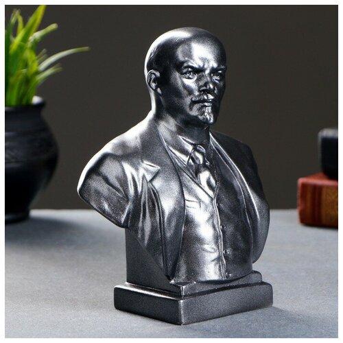 Бюст Ленин большой металлик 19см 1380812