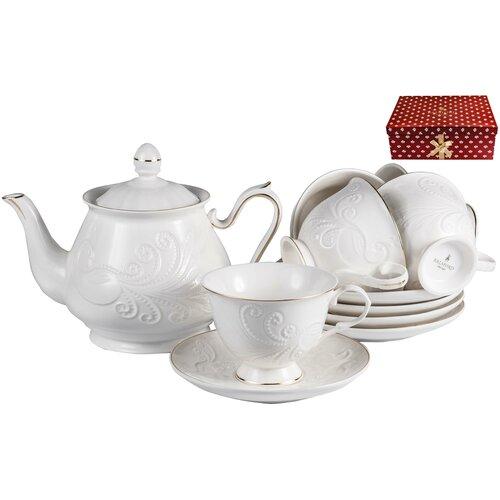 Набор чайный, грация, 13 предметов, ТМ Balsford, артикул 101-30012 набор чайный 220мл грация 13 предметов 101 30007 balsford