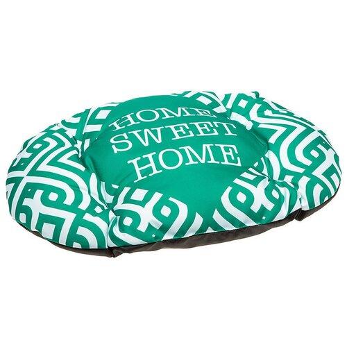 Подушка Ferplast RELAX C GREEN HOME/LONDON для кошек и собак (Relax 55/4, Green Home)