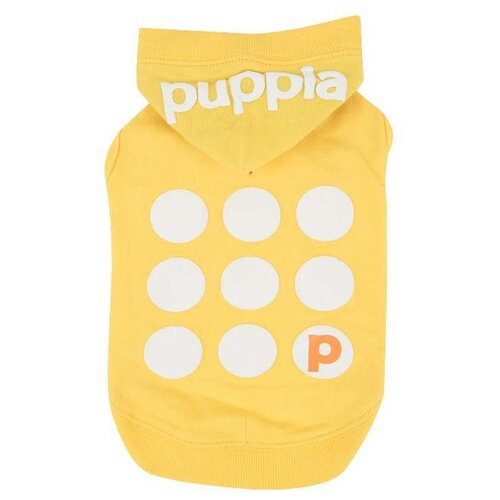 Футболка для собак Puppia Emmy S желтый