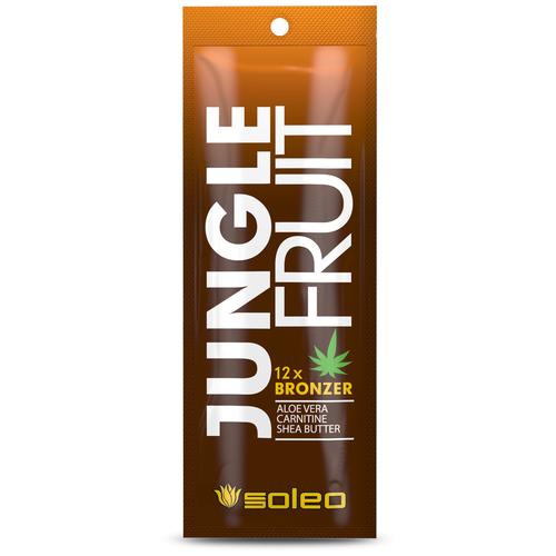 Фото - Крем для загара в солярии Soleo Jungle Fruit 15 мл soleo ультраусилитель lime mousse загара с тирозином 150 мл