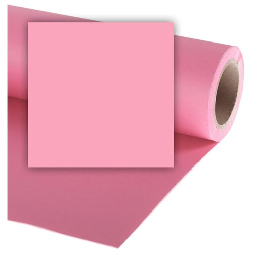 Фото - Фон Colorama Carnation, бумажный, 1.35 x 11 м, розовый фон бумажный colorama ll co531 1 35x11 м maize