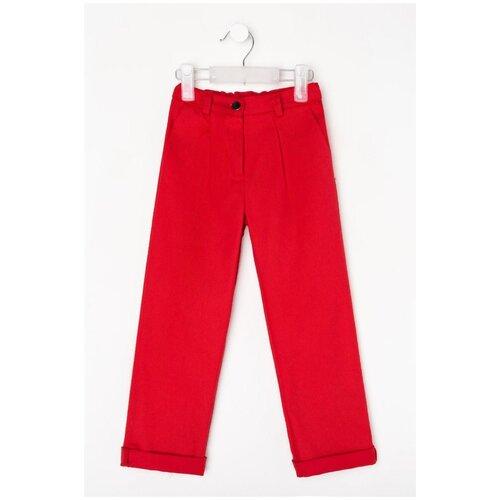 Купить Брюки Minaku размер 116, красный