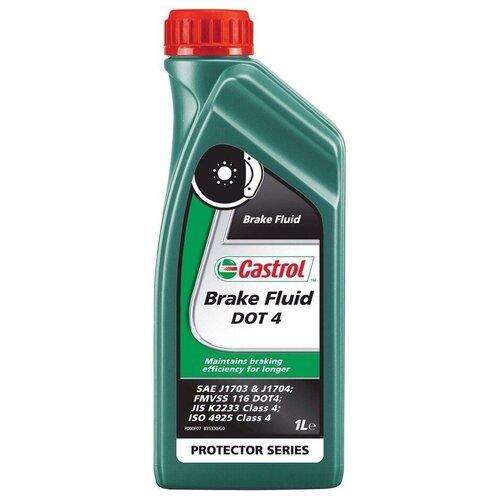 Тормозная жидкость Castrol Brake Fluid DOT 4 15CD18 500 мл
