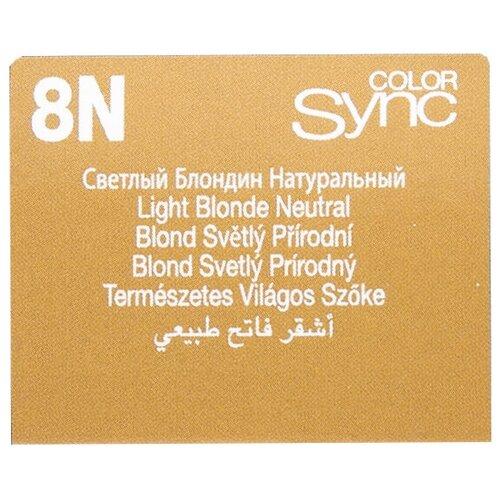 Купить Matrix Color Sync краска для волос без аммиака, 8N светлый блондин, 90 мл