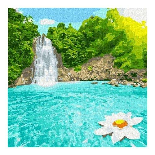 Купить Картина по номерам Райский уголок, 30x30 см. Molly, Картины по номерам и контурам