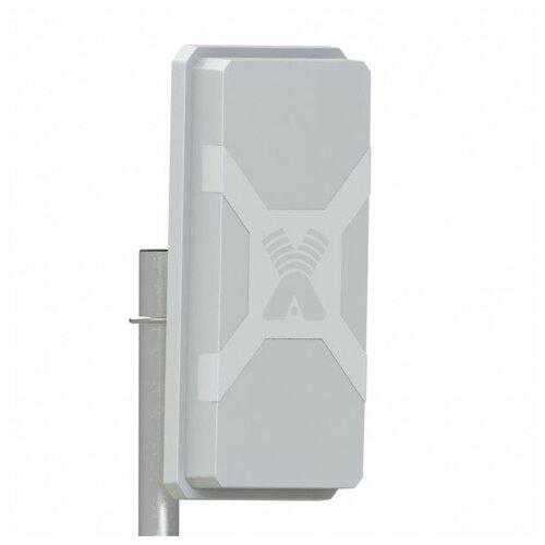 Антенна Nitsa-5F MIMO 2x2 панельная все диапазоны частот 2G/3G/4G/LTE усиление 9-145дБ 75 Ом