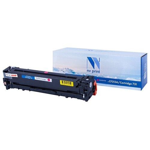 Картриджи для лазерных принтеров, МФУ и копиров Картридж совм. NV Print CF213A/Canon 731 пурпурный для HP LJ Pro M251/M276 (1800стр)