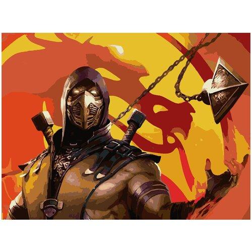 Картина по номерам Mortal Kombat X, 40 х 50 см telesiński łukasz mortal kombat x