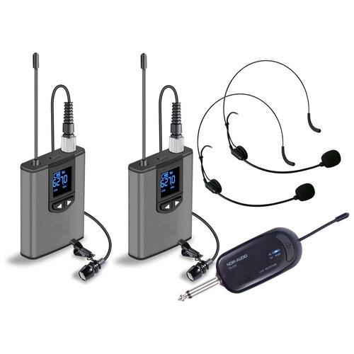 Микрофон NOIR-audio TG-220 для камеры, смартфона, ПК