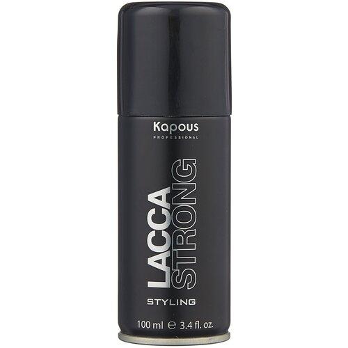 Купить Kapous Professional Лак для волос Lacca Strong, сильная фиксация, 100 мл