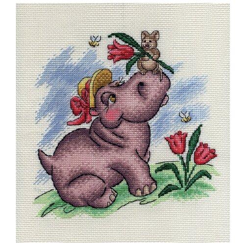 Купить PANNA Набор для вышивания Романтическое настроение 21 x 21 см (D-0628), Наборы для вышивания