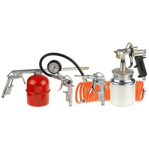 Набор пневмоинструментов STAYER 06487-H5 набор стамесок stayer 1820 h5