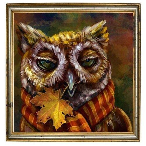 Купить Алмазная мозаика Пижон, картина стразами Color KIT 40x40 см., Алмазная вышивка