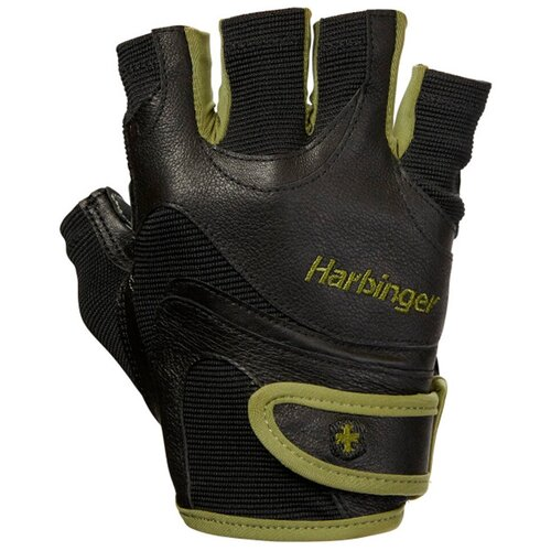 Перчатки Harbinger FlexFit, мужские, размер XL, зеленые женские перчатки harbinger flexfit размер s черные