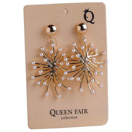 Queen fair Серьги Салюты 4571010