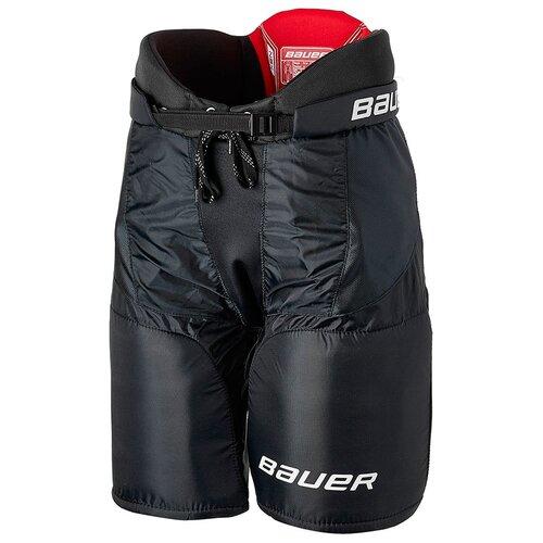 Шорты хоккейные BAUER NSX S18 JR подростковые(XL / черный/XL)
