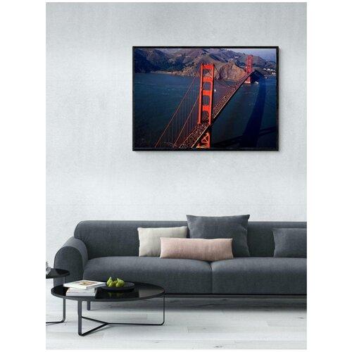Постер Мост в Сан-Франциско 60x90 в раме