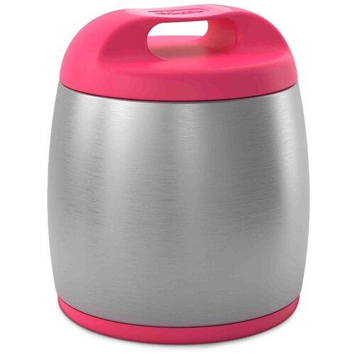 Фото - Термос для еды из нерж. стали Chicco 6м+, 350 мл, цвет розовый, 340728608 тарелка chicco easy feeding 6м розовый