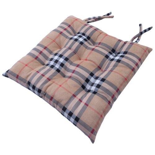Подушка на стул с завязками 23821 45х45 см
