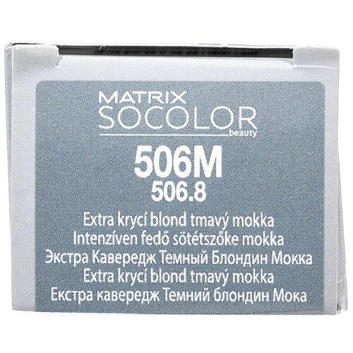 Купить Matrix Socolor Beauty стойкая крем-краска для волос Extra coverage, 506M темный блондин мокка, 90 мл
