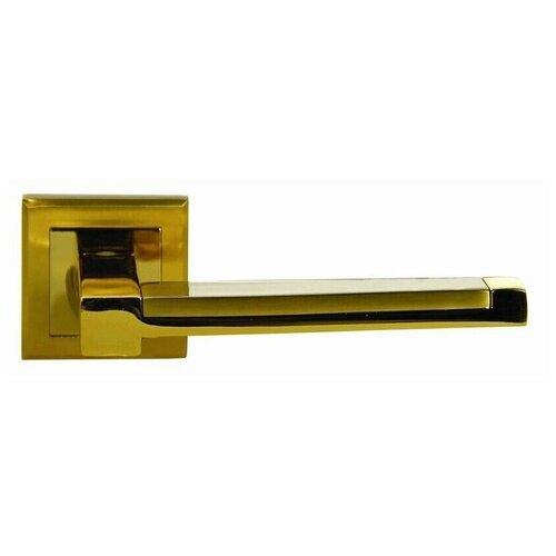 Ручка дверная Оберег Z6107 SG/GP Матовое золото/золото