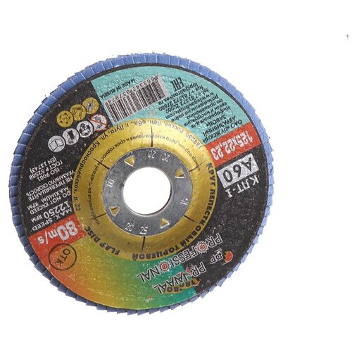 Диск LugaAbrasiv 125x22.2mm тип КЛТ1 Р60 3656-125-25