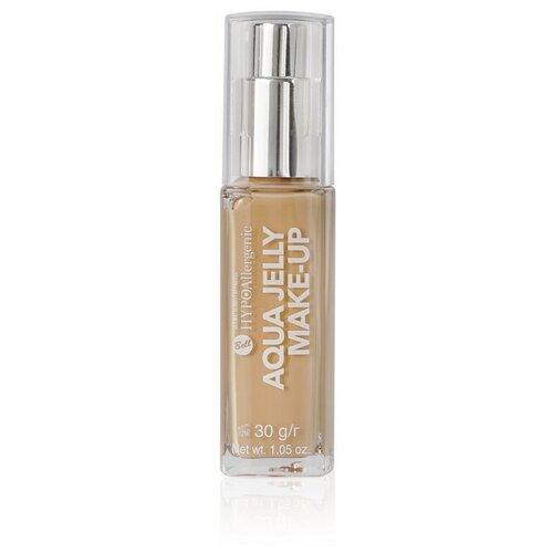 Bell Тональный флюид HypoAllergenic Aqua Jelly Make-Up, 30 г, оттенок: 04 Golden Beige недорого