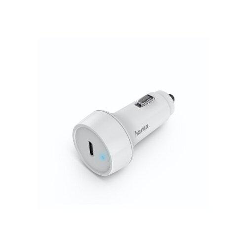 Автомобильное зарядное устройство Hama H-183278 3A PD универсальное, белый (00183278)